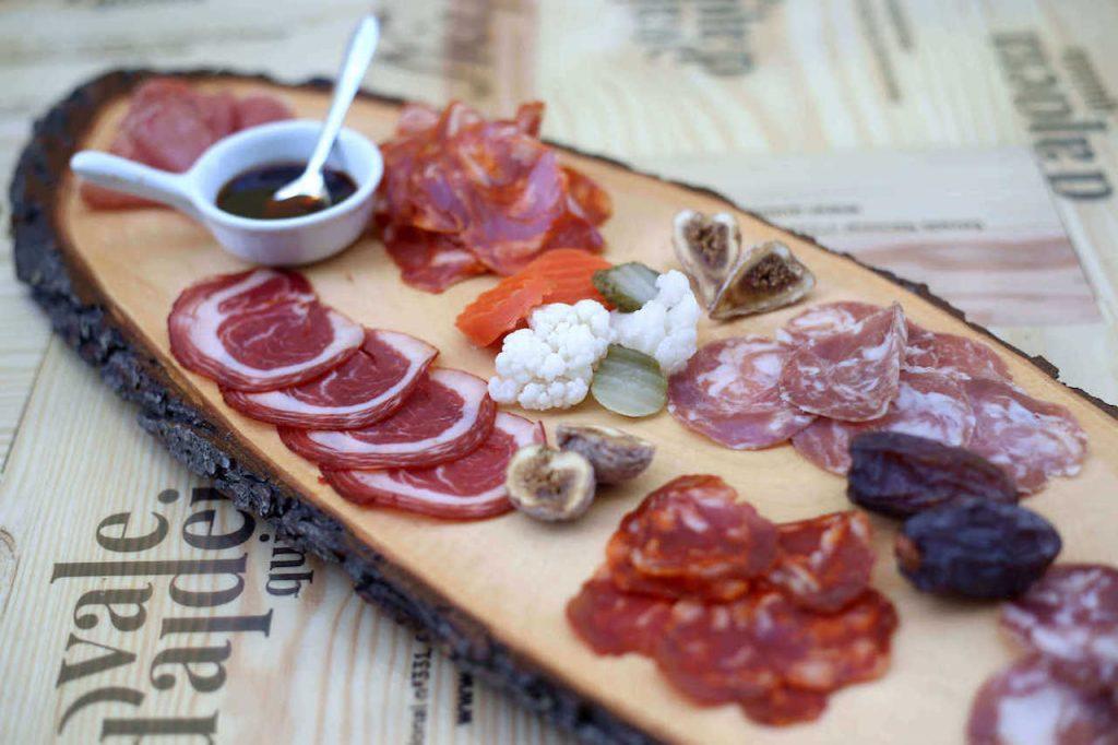 Iberian pork sausages spread