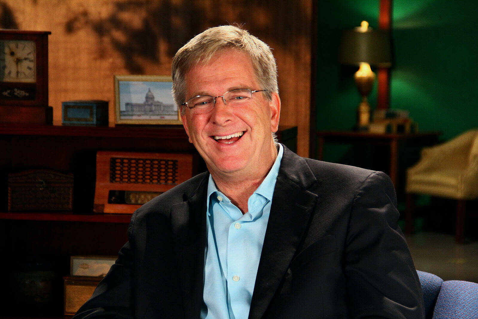 USA author Rick Steves