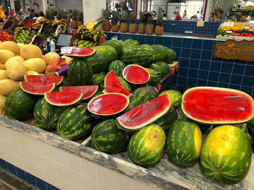 Watermelons in Setúbal